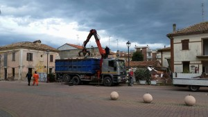 L'assessore Lucchetti soddisfatto per i cantieri aperti a Marotta