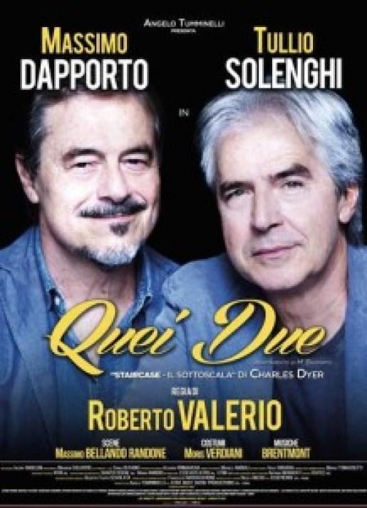 Finalmente a Jesi Massimo Dapporto e Tullio Solenghi