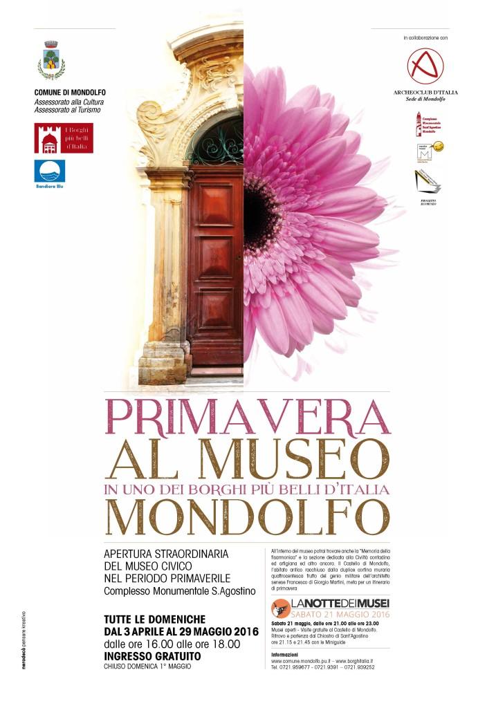 A Mondolfo torna Primavera al museo