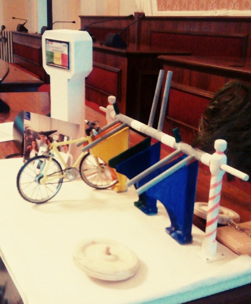 Antifurto per biciclette ideato da un gruppo di studenti di Senigallia