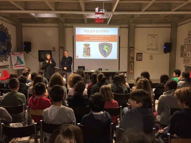 Corso di legalità alla scuola Fagnani di Senigallia