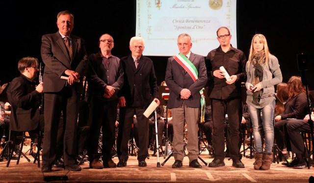 Consegnati aal teatro di Maiolati gli Spontini d'oro