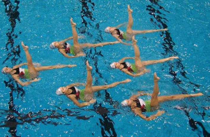 Senigallia capitale del nuoto sincronizzato