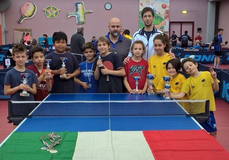 Tanti giovani alla fase nazionale del PingPong Kids