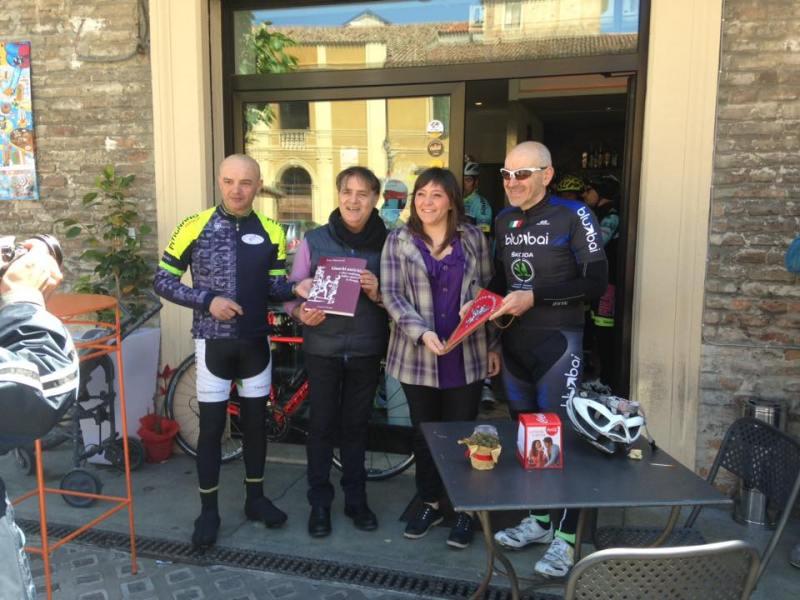 La bicicletta unisce i comuni di Perugia e Fano
