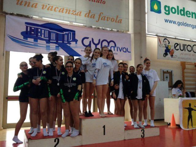Grandi soddisfazioni per il Liceo Perticari al Gymfestival