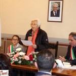 Maria Lisa Cinciari Rodano cittadina onoraria di Trecastelli
