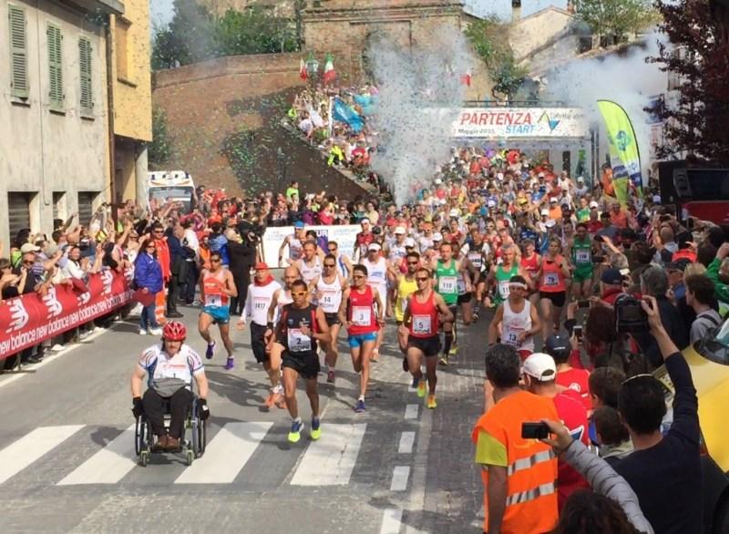 In mille per la ColleMar-athon, la Maratona dei valori