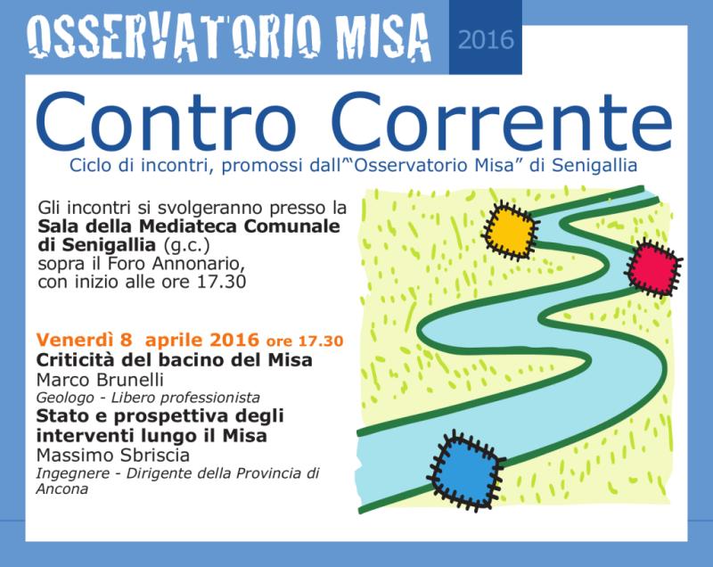 A Senigallia nuovo incontro dedicato al fiume Misa