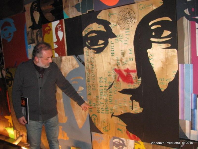 Splendido finissage a Fano della mostra Lei di Mauro Drudi