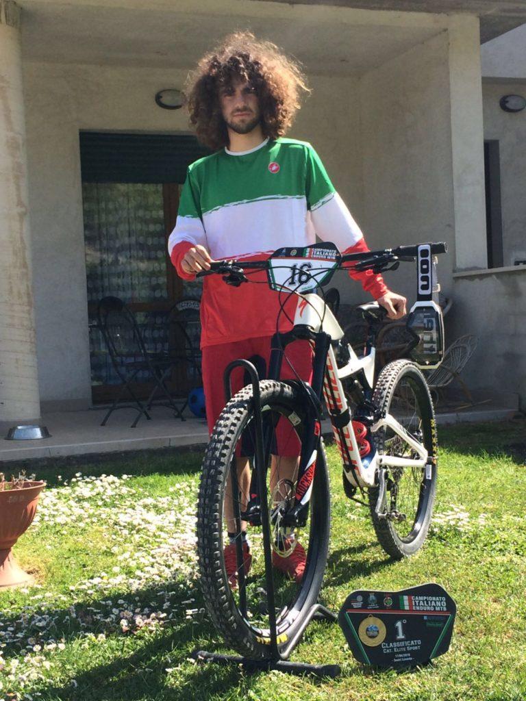 Andrea Paoloni campione italiano enduro