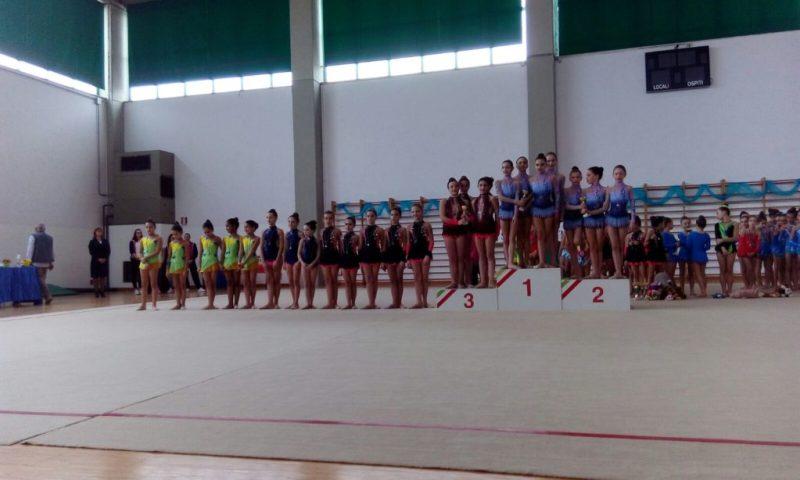 A San Benedetto buone prove delle ginnaste della Uisp