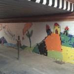 Rigenerato dagli alunni il sottopasso di Cesano