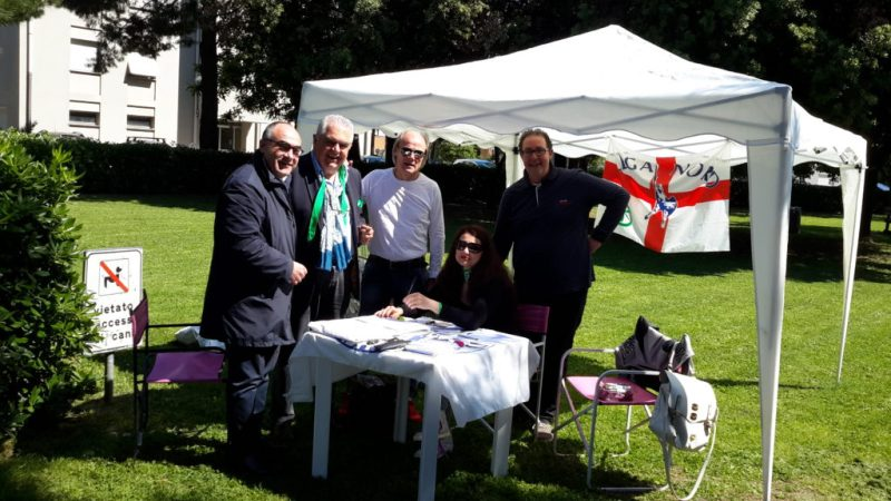 La Lega Nord continua a Senigallia la raccolta di alimenti