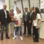 Nicola Pambianchi premiato dal Lions Club Senigallia