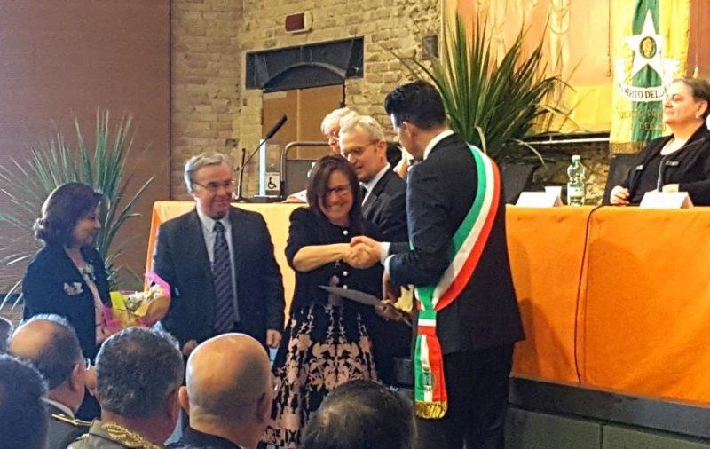 Stella al Merito del Lavoro alla senigalliese Lidia Tomassetti