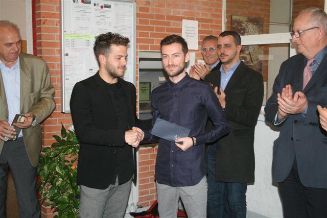 Ad Antonio Rizzo il premio dedicato alla memoria di Fabrizio Antonini