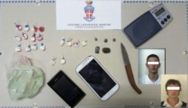 A Castelferretti due arresti per spaccio di stupefacenti