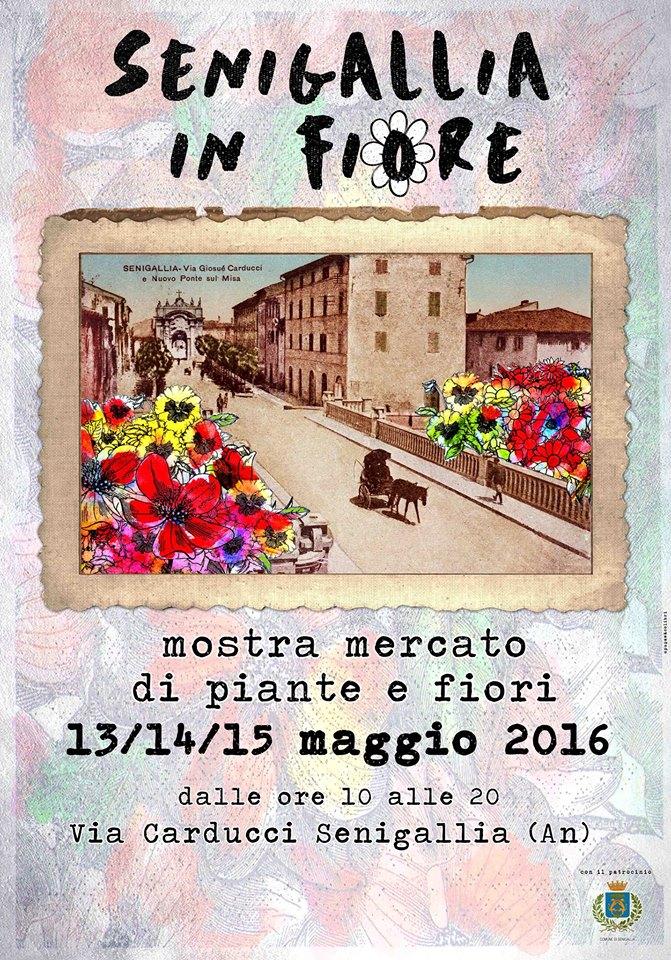 Da venerdì a domenica torna Senigallia in Fiore