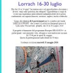 A Lorrach riflessioni e approfondimenti sul tema dei rifugiati