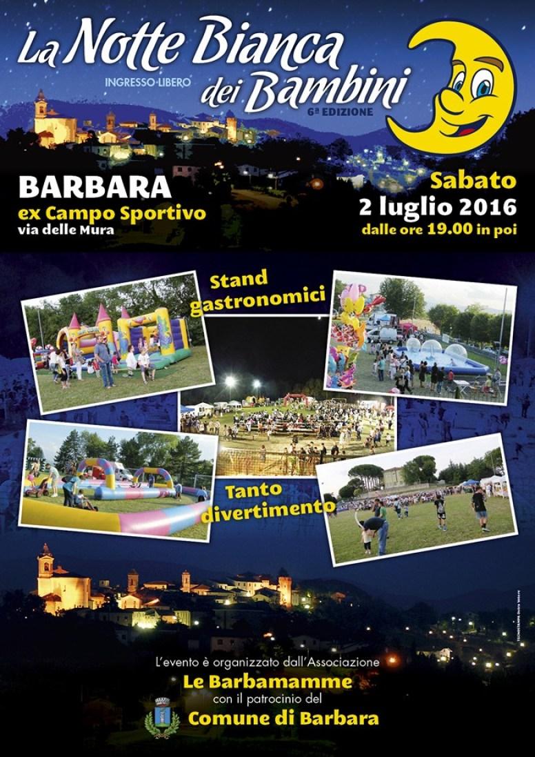 Un maxi schermo per Italia-Germania alla Notte Bianca dei Bambini di Barbara