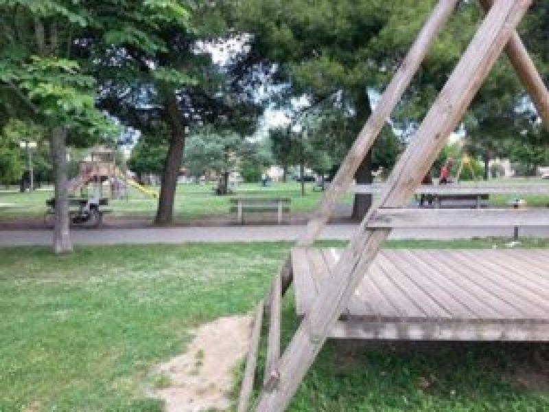 A Senigallia il Parco della Pace è nel totale abbandono