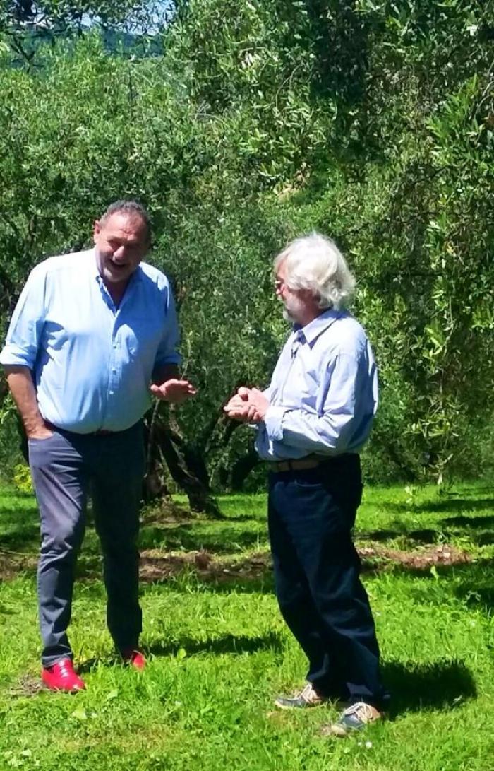 Gianfranco Vissani a Cartoceto per promuovere l'olio Dop