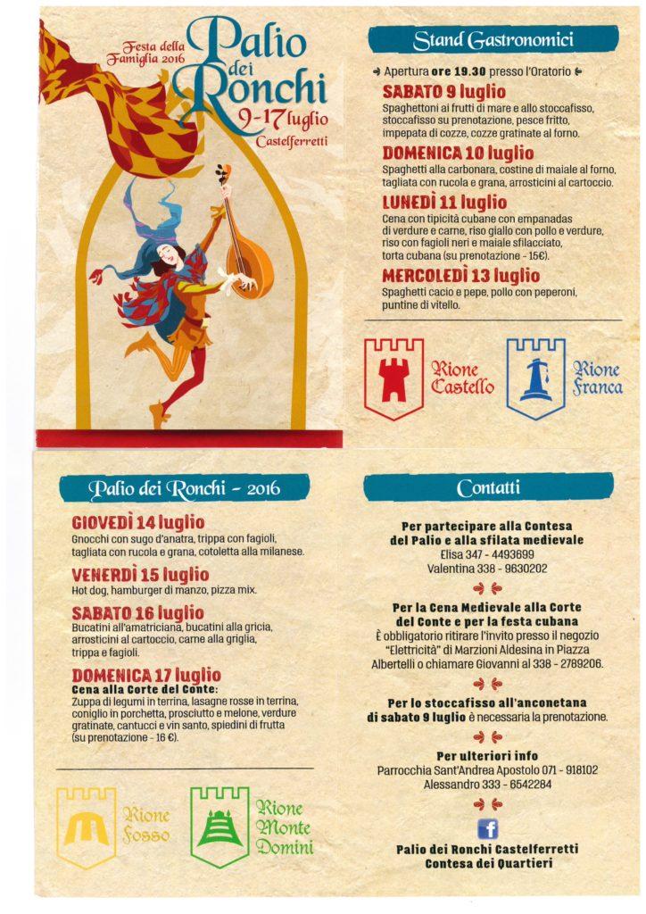 Castelferretti torna al Medioevo