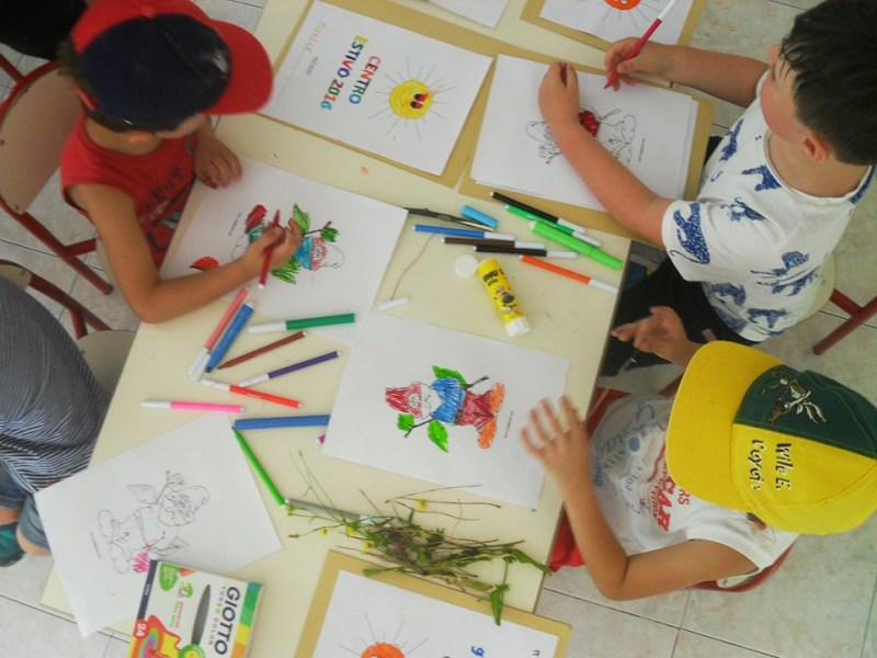 Avviato il centro estivo per i bambini di Castelleone di Suasa