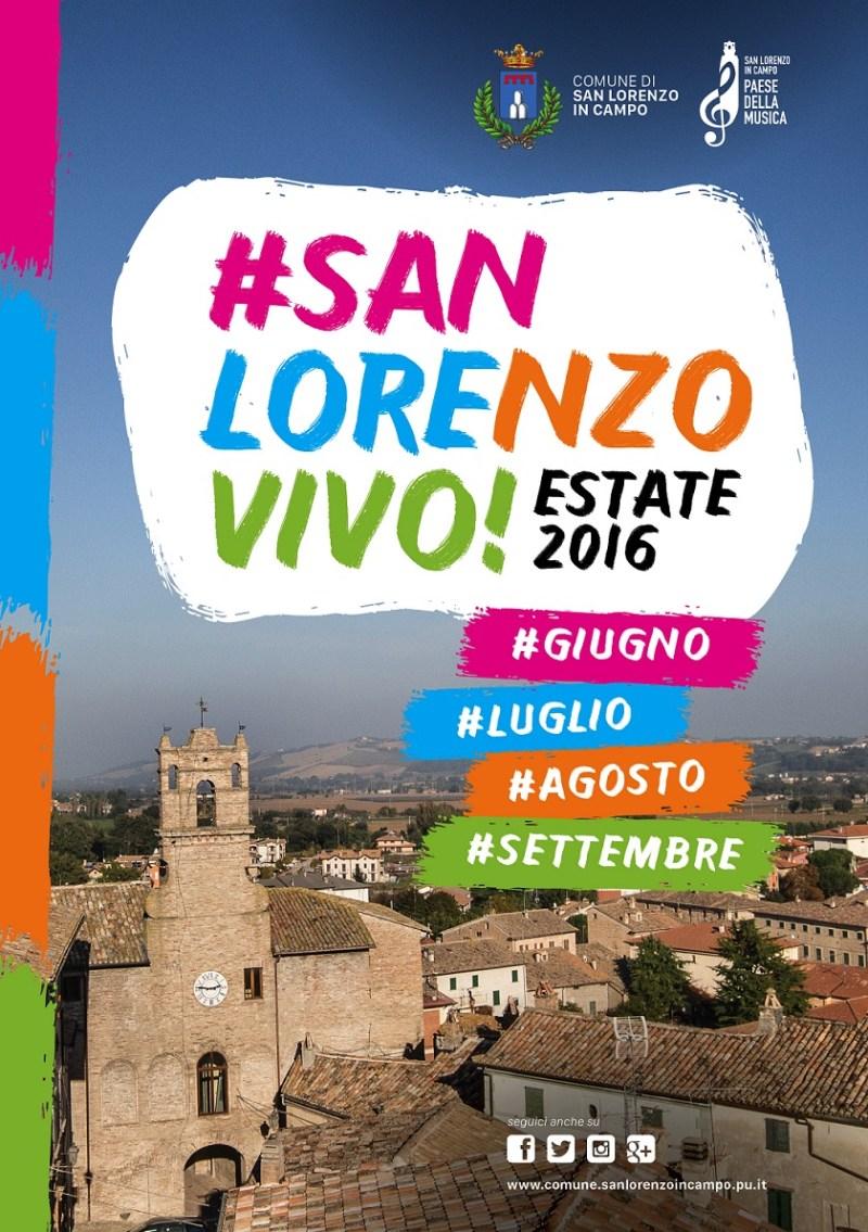 San Lorenzo in Campo, nel Paese della musica decolla l'estate