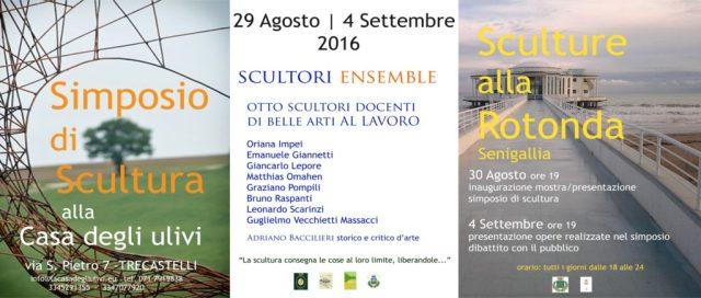 A Senigallia e Trecastelli una settimana all'insegna della scultura