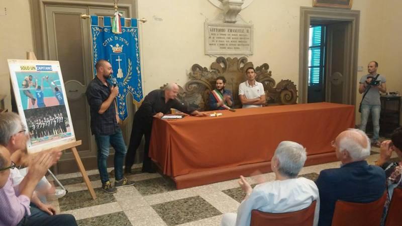 Ostra ha festeggiato Emanuele Birarelli, medaglia d'argento alle Olimpiadi di Rio