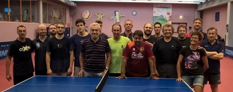 Onorificenza del Coni al presidente del Tennistavolo Senigallia, Domenico Ubaldi