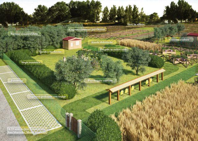 Domenica a Monsano si inaugura la Piazza degli orti