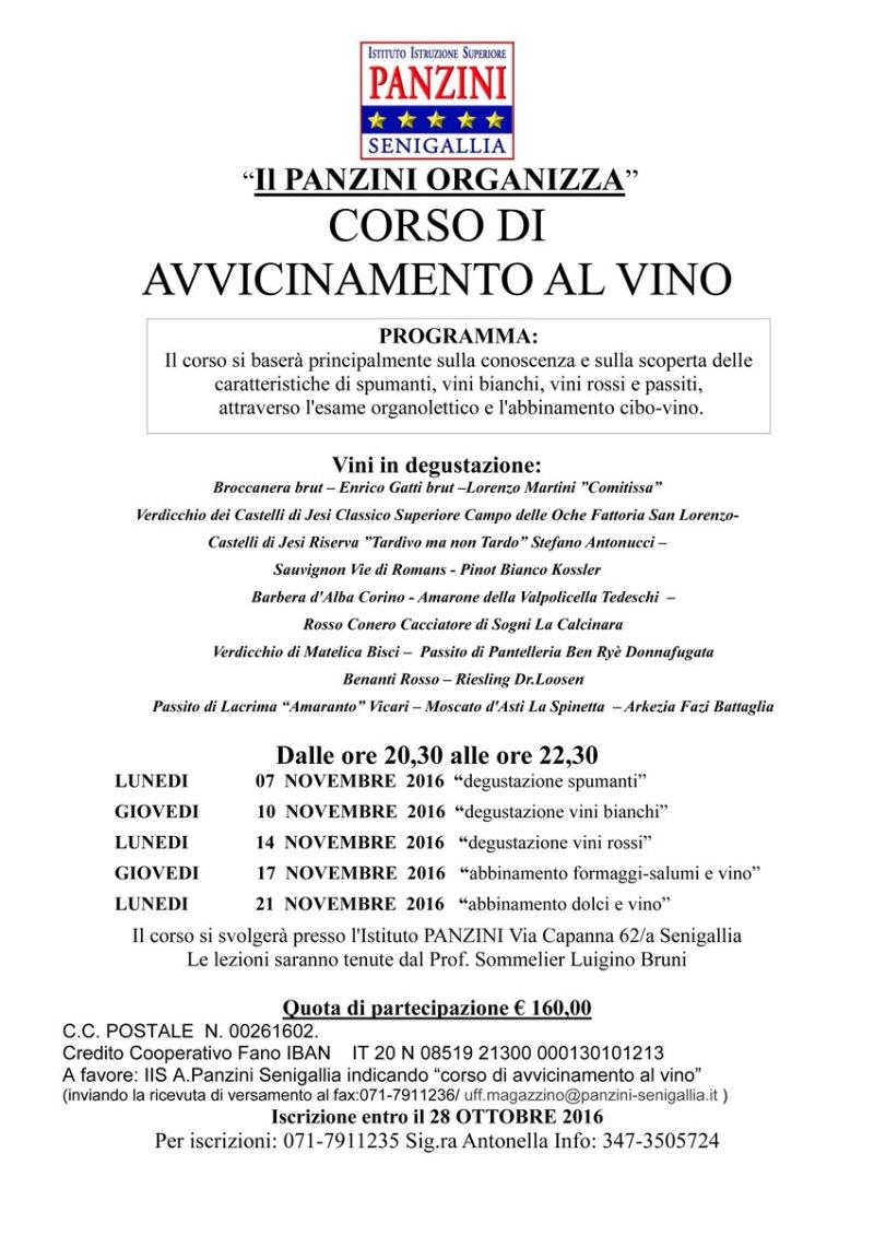 A Senigallia un nuovo corso di avvicinamento al vino
