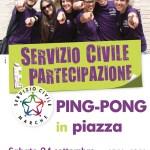 SENIGALLIA / Il ping-pong torna nel centro storico e va alla conquista della piazza ritrovata