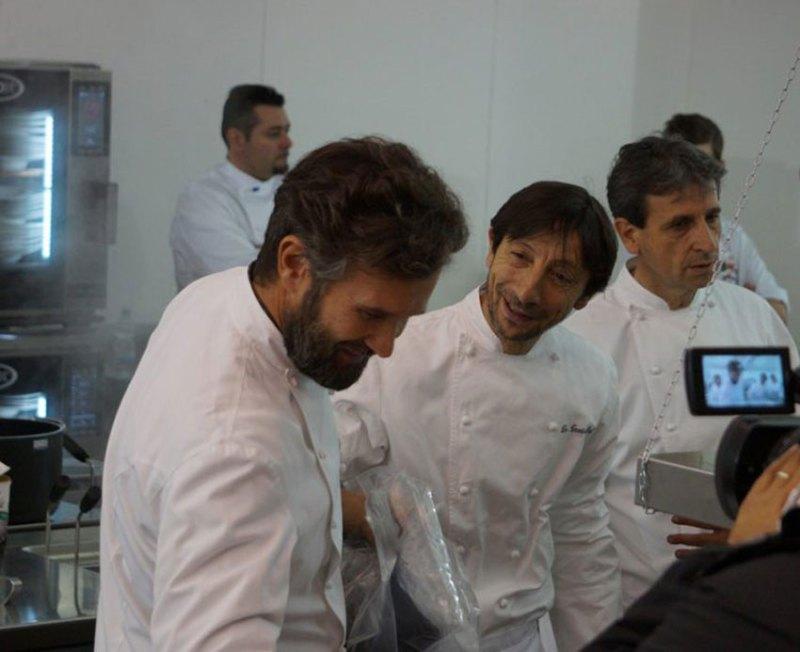 Anche gli chef stellati di Senigallia in cucina per la ricostruzione dell'Istituto alberghiero di Amatrice