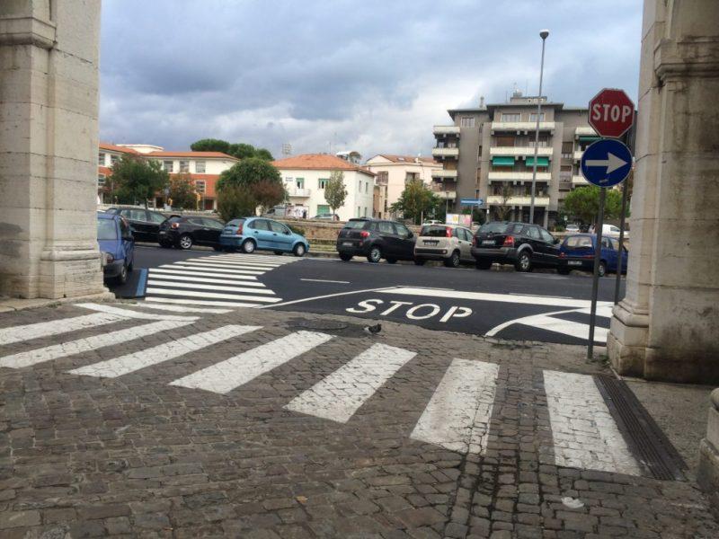 SENIGALLIA / Finalmente un attraversamento pedonale  adeguato