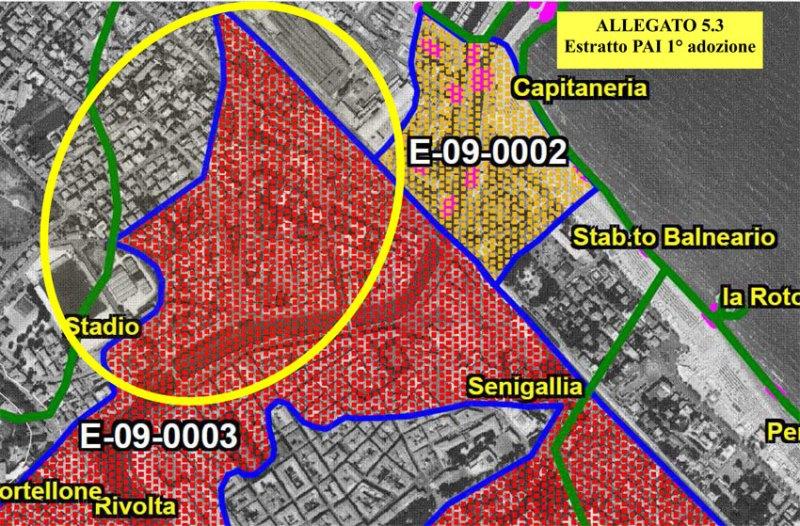 Senigallia Bene Comune chiede di estendere l'area R4 alla sponda sinistra del fiume Misa