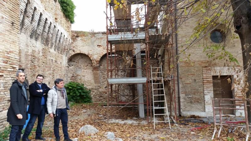 FANO / Proseguono i lavori di adeguamento della Rocca Malatestiana