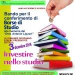 A Castelleone di Suasa borse di studio alla memoria del dottor Antonio Liguori
