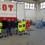 Da Marotta a Visso il camion della solidarietà