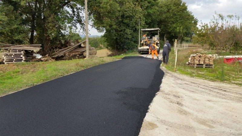 A San Lorenzo in Campo investiti 250mila euro per asfaltature e interventi sulle strade
