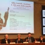 Aperte in Senato le celebrazioni per il centenario della nascita dello scultore senigalliese Alfio Castelli