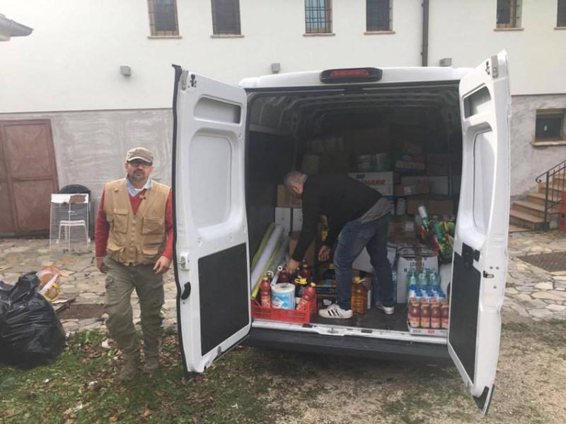 Da Senigallia un aiuto concreto ai terremotati di Pieve Torina
