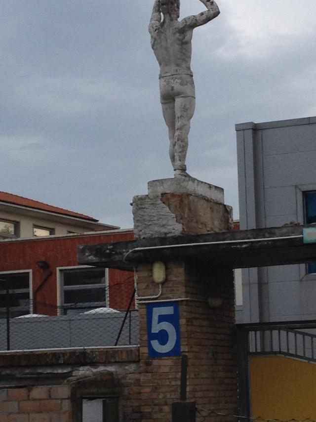 SENIGALLIA / Creatività e senso civico per recuperare le mura dello stadio Bianchelli
