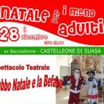 "A Castelleone di Suasa è in arrivo un ""Natale per i meno Adulti"""