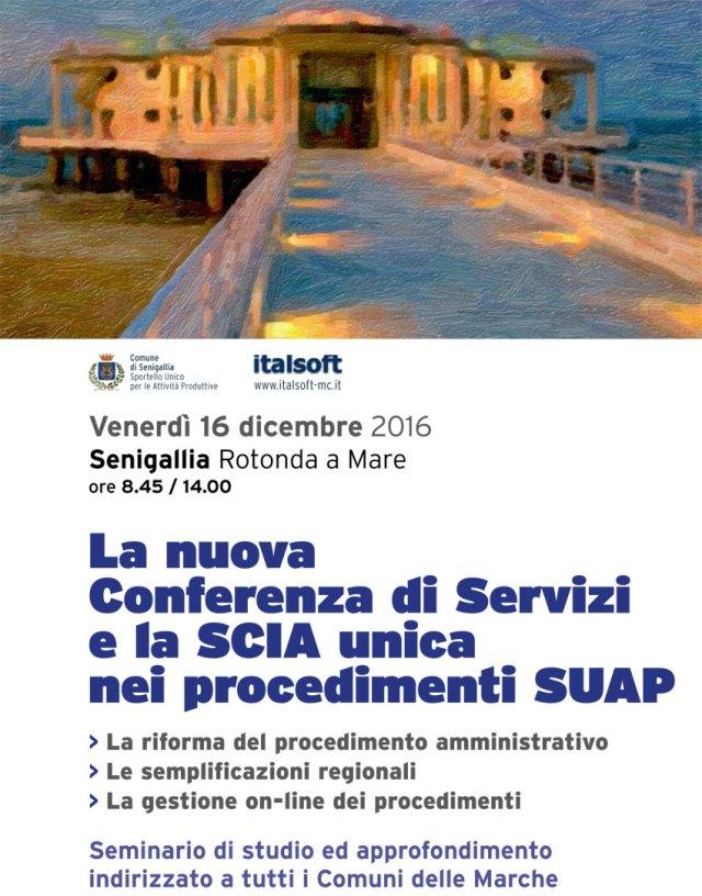 SENIGALLIA / Alla Rotonda un seminario sugli Sportelli unici per le attività produttive