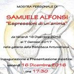 SENIGALLIA / Espressioni di un'anima, alla Biblioteca Antonelliana la mostra personale di Samuele Alfonsi