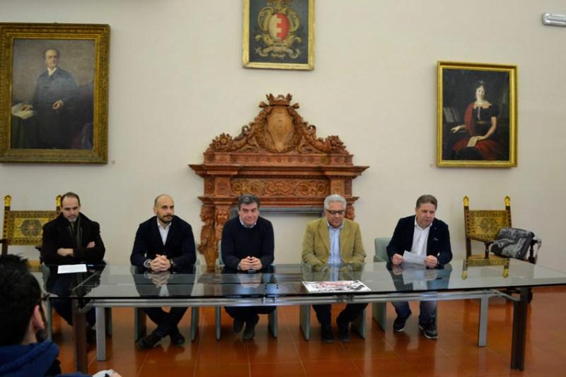 Nelle foto: Simone Conti, Nicola Zarri, Massimo Seri, Stefano Marchegiani, Giampiero Pedini.